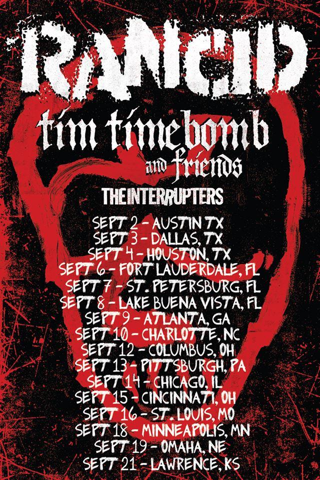 rancid-tim-timebomb-the-interrupters-flier