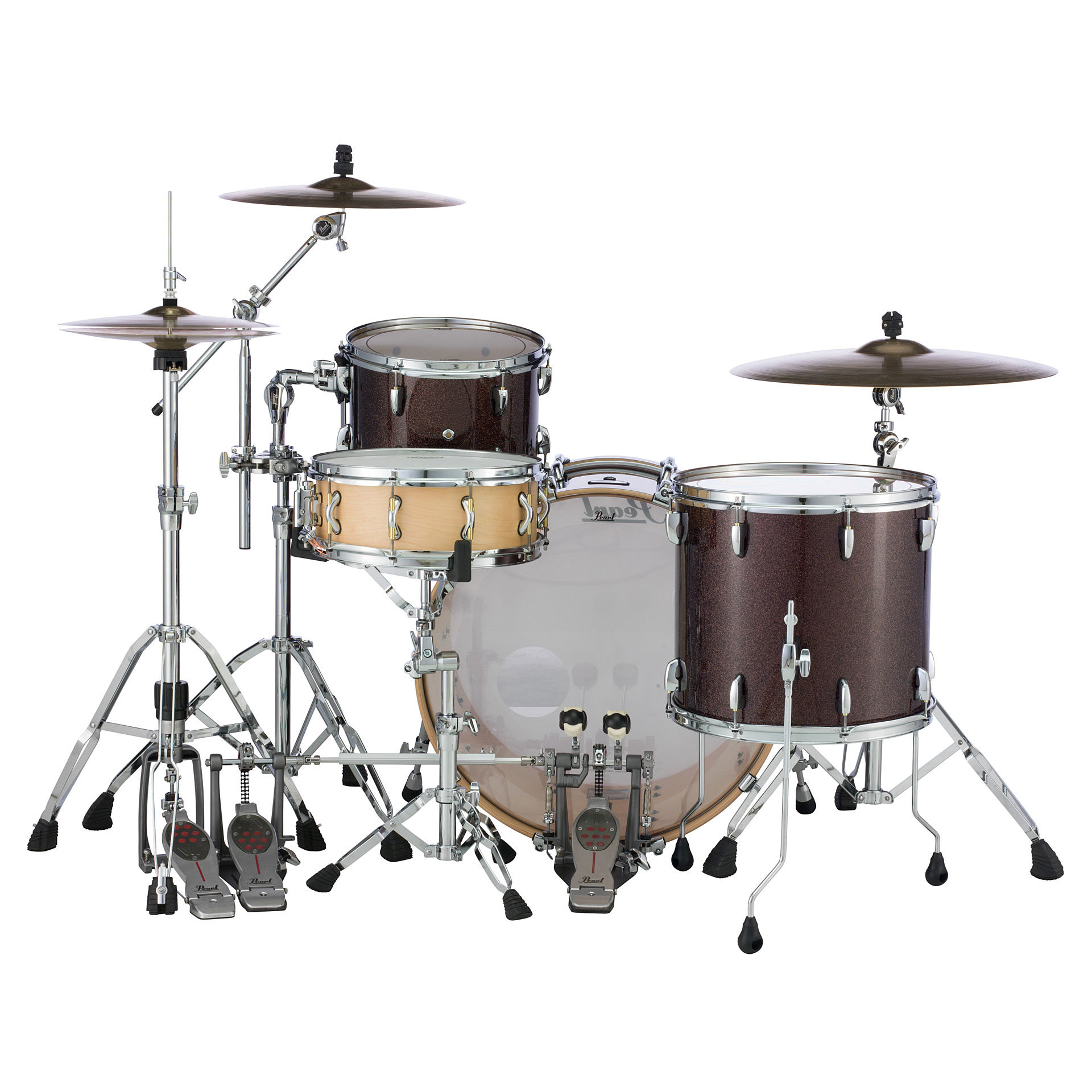Erfahrung Synonym Pearl Masters Maple Complete 24 Quot Burnished Bronze Sparkle