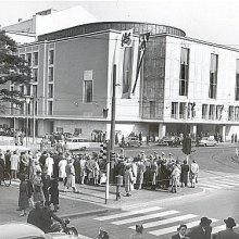 Eröffnung des Opernhauses an der Heinrich-Heine-Allee nach Wiederaufbau und Umbau, 1956 (Foto: Schirmer)