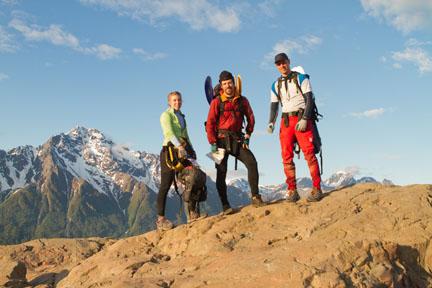 Winning Team Mountain Climbing