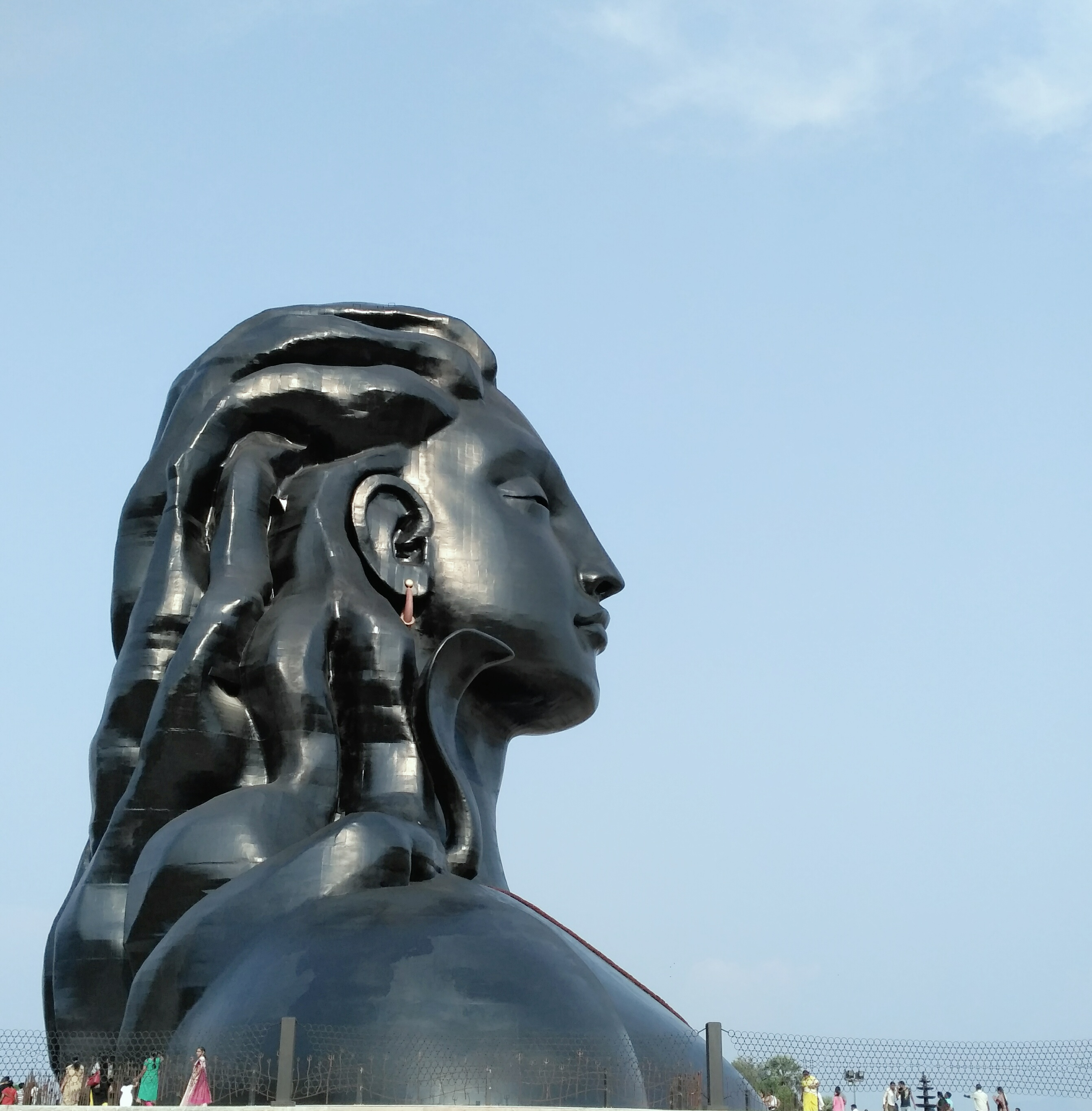Mahashivratri Wallpaper 3d Adhi Yogi Isha Yoga Centre Musings From Madampatti