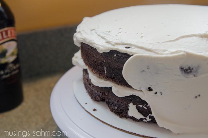 The Best Irish Cream Cake with Real Whipped Cream & Bailey ...