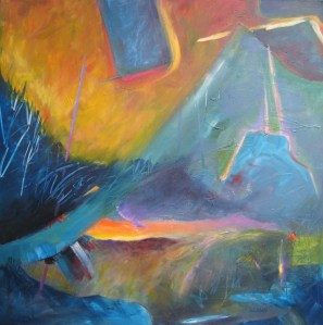 30508 North by Northwest Acrylic on Canvas SOLD