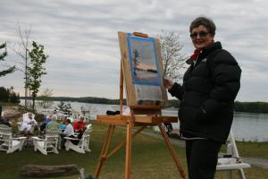 Lynda at the Rosseau Marriott on CITY TV Breakfast Television May 2012