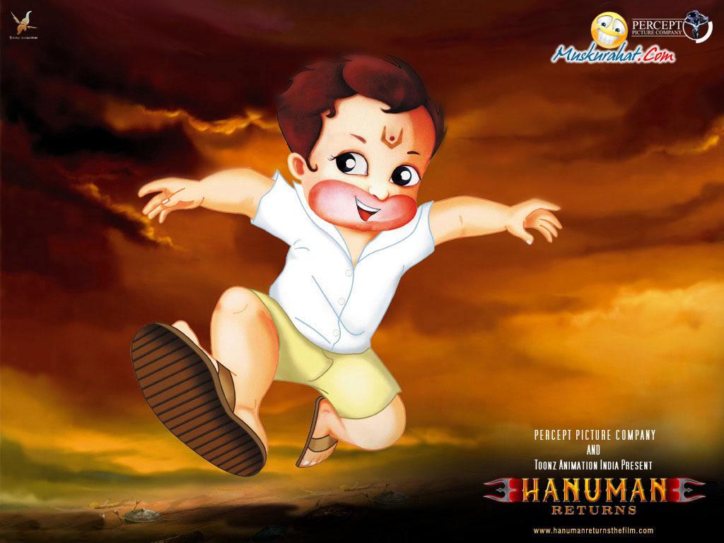 Sai Baba Animated Wallpapers Free Download Hanuman Returns Desktop Wallpaper 3503 Movies Wallpapers