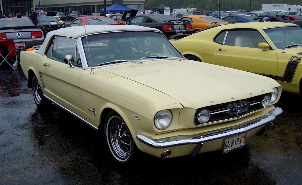Phoenician Yellow 1964 Ford Mustang Convertible - MustangAttitude
