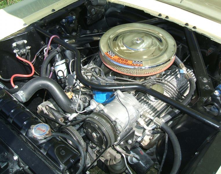 All Mustang Engines by Year at MustangAttitude