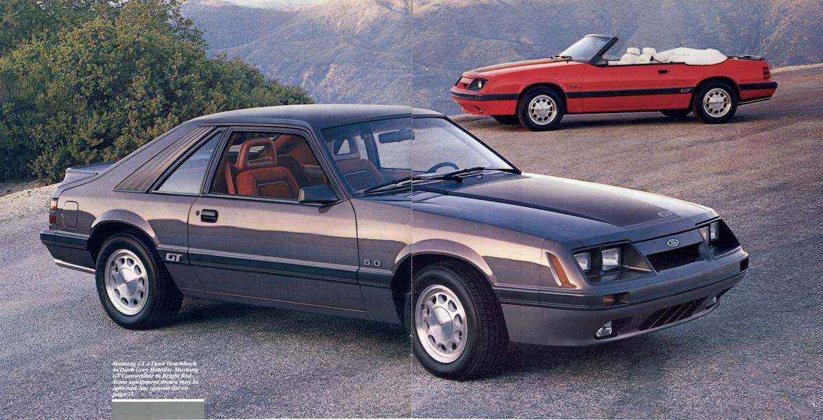 Ford 1986 Mustang Sales Brochure