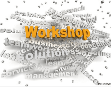 workshop word cloud