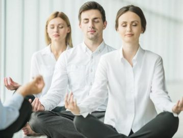 yoga workers