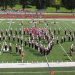 Grove City Wolverine Marching Band Pictures -Sept. 5, 2009