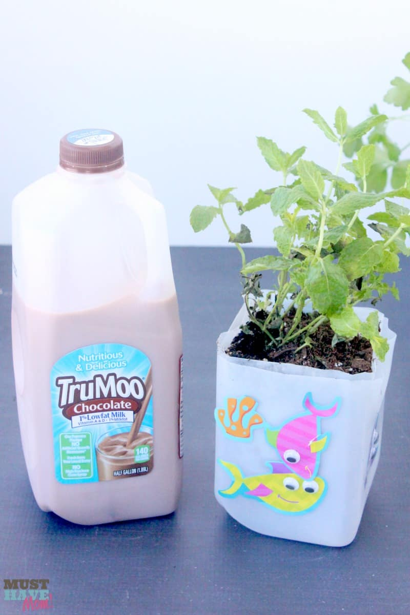 Make Self Watering Planters How To Make Self Watering Planters Out Of Milk Jugs Must Have Mom