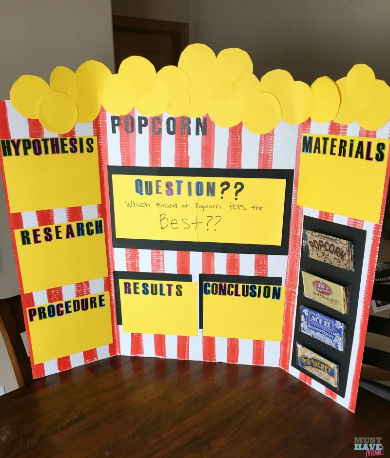 5 Easy Science Fair Projects That Anyone Can Pull Off! + Popcorn
