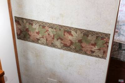 How To Remove Wallpaper Border in an RV - Must Have Mom
