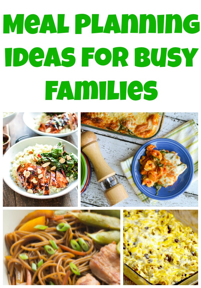 Meal Planning Ideas for Busy Families - Week 49 - Must Have Mom