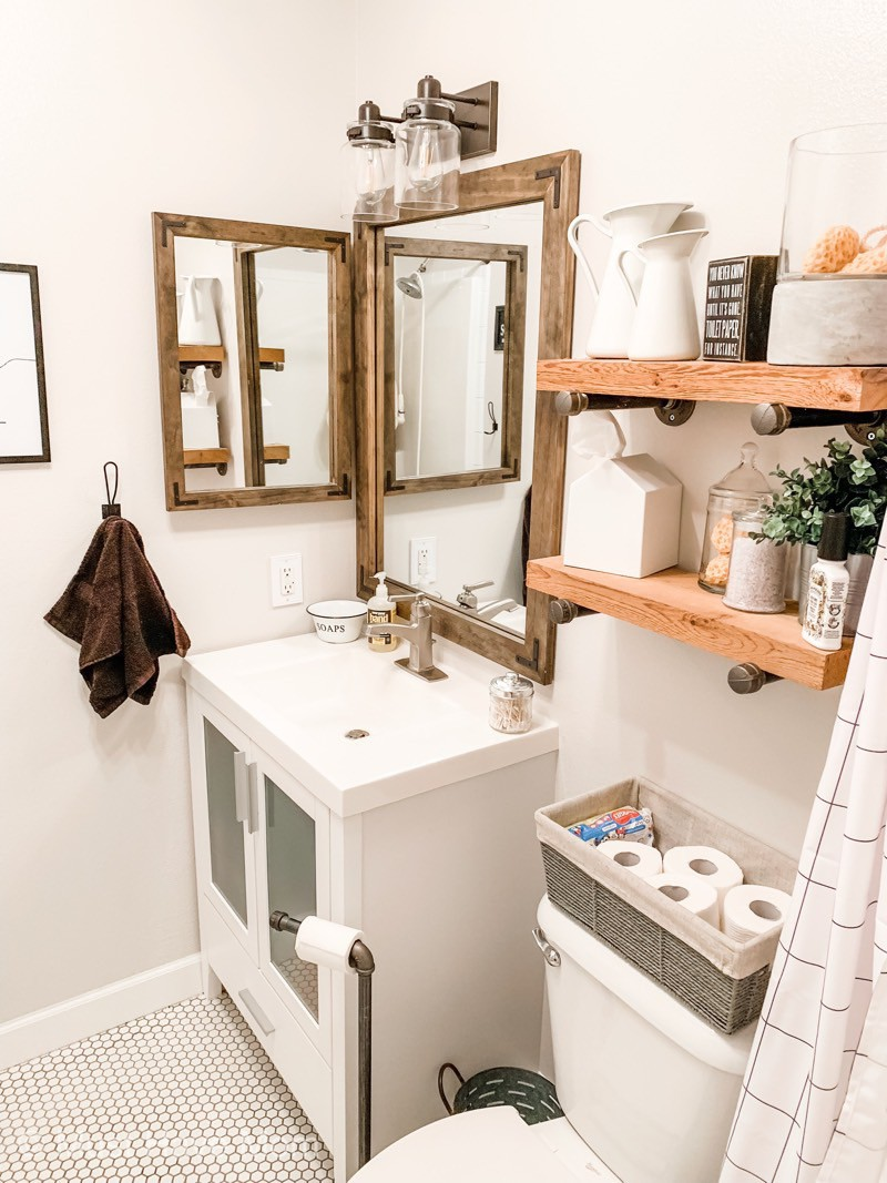 Small Bathroom Makeover Diy Small Bathroom Remodel Must Have Mom