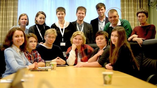 Владимир Полысалов среди участников конференции в Норвегии. Фото: www.medier24.com