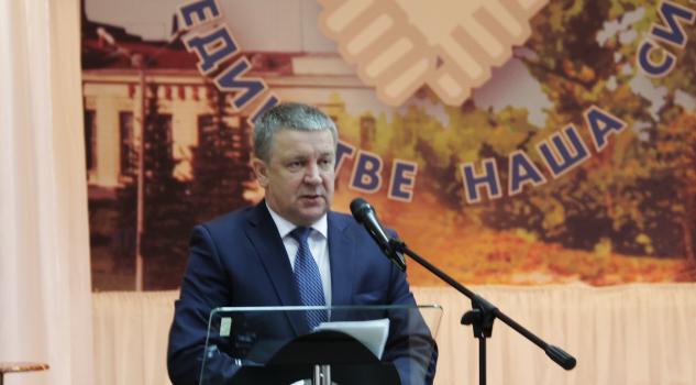 Удалось ли губернатору заразить оптимизмом профсоюзную аудиторию? Фото: Анна Романова