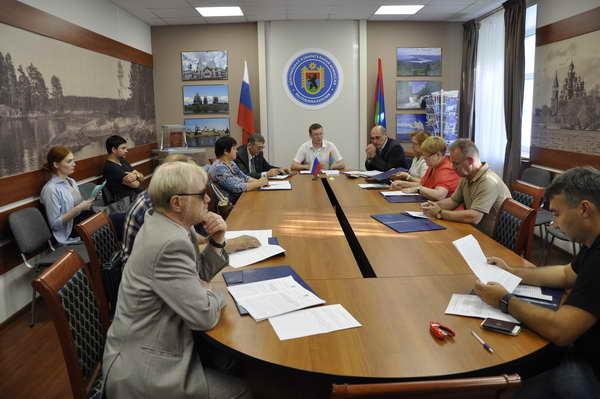 Заседание Центральной избирательной комиссии Карелии. Фото: ЦИК Карелии