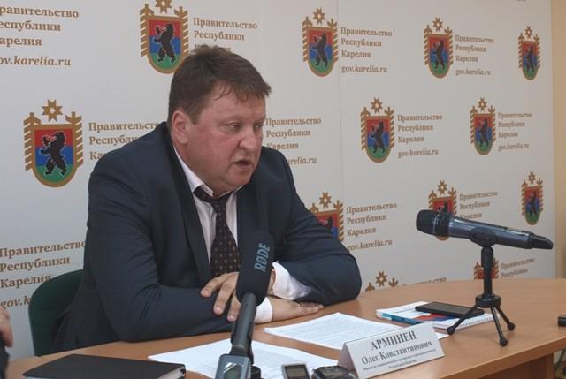 Олег Арминен. Фото: министерство экономического развития и промышленности Карелии