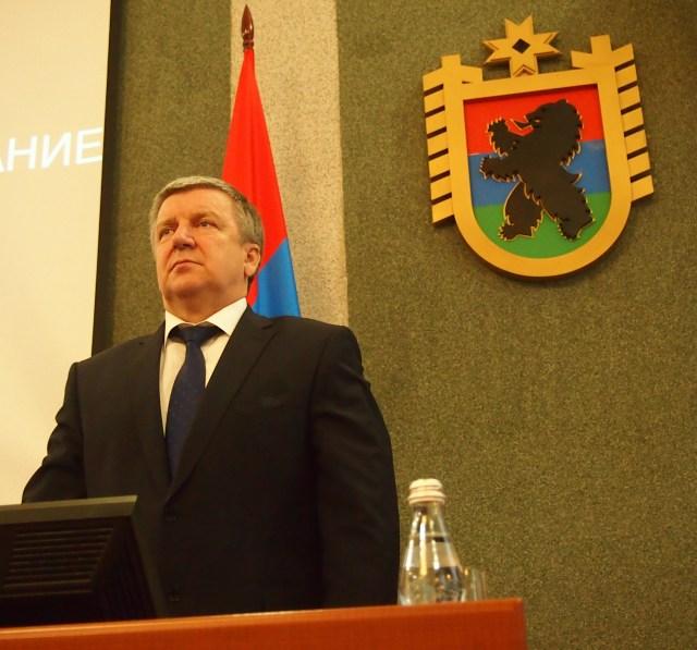 Александр Худилайнен. Фото: Валерий Поташов