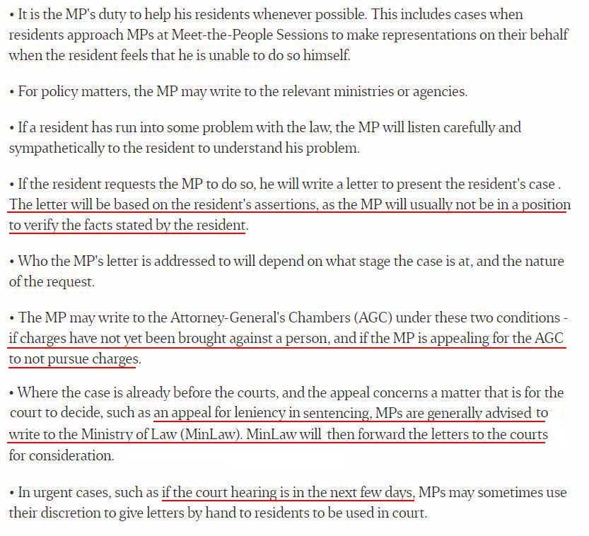 PAP\u0027s Appeal Letter Protocol For MPs Can Be Better Clarified