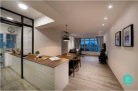9 Stunning HDB Open Kitchen Concepts That Are BTO Goals