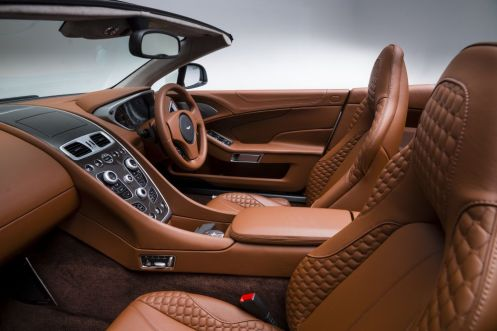 2014 Aston Martin Vanquish Volante-cockpit
