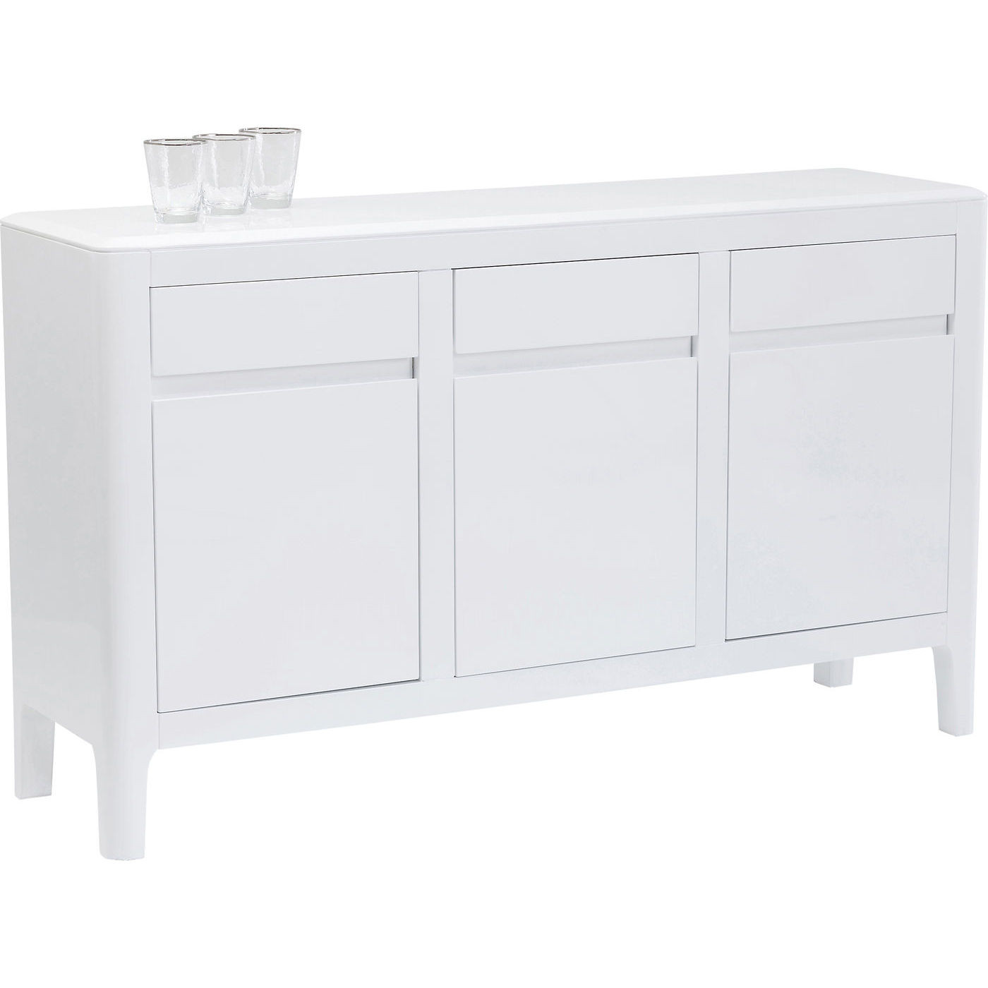 Wohnzimmer Sideboard Shabby Brooklyn White Sideboard Sideboards Kommoden