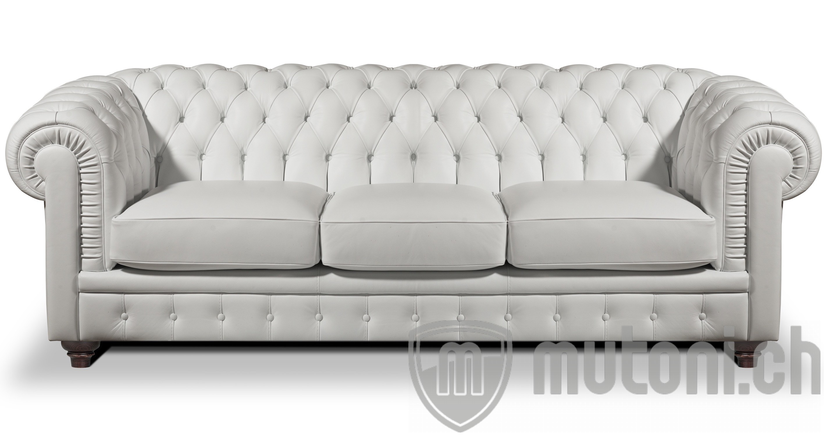 Chesterfield Wohnzimmer Chesterfield Sofa Pavarotti Deluxe Edition 3er Sofa 225cm