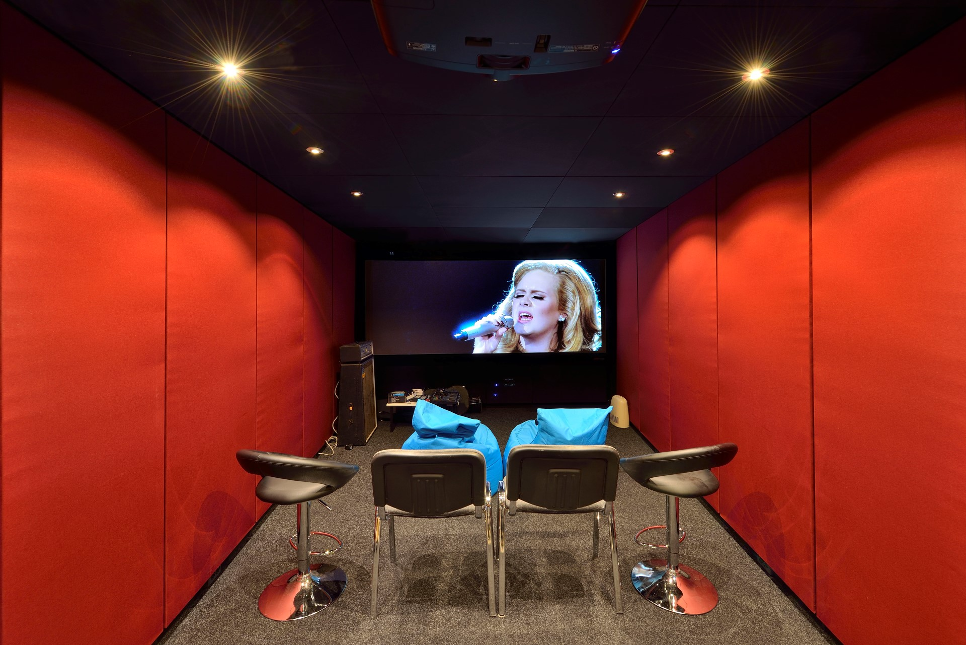 Thuisbioscoop Maken Mutrox Studios And Home Cinemas Soundproof Solutions Voor