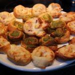 Schnelle und einfache Mitbringsel für verschiedene Anlässe: Pizza-Schnecken (Rezept)