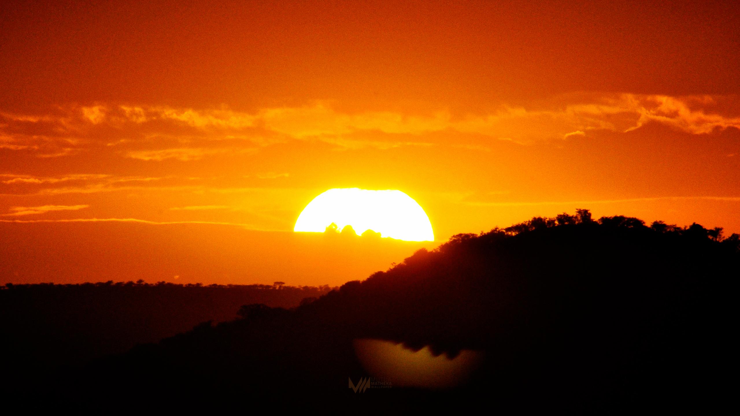 How To Make Live Wallpaper Work Iphone X Wallpaper Monday 55 Serengeti Sunset