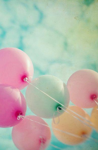 Las fotos con globos una de mis muchas obsesiones for Fliegen in blumen