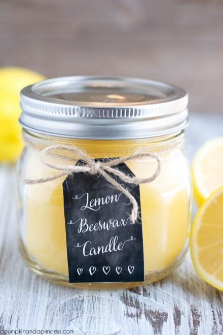 DIY-Lemon-Beeswax-Candle