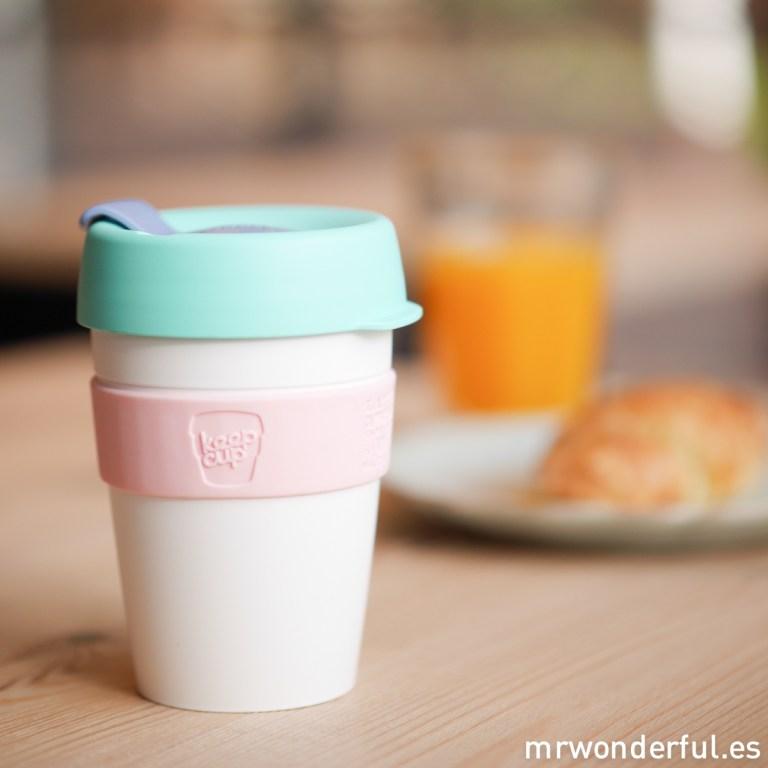 Tenemos las nuevas tazas Keep Cup que llevarás contigo a todas partes