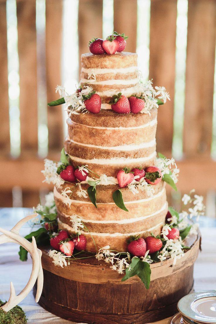 Los naked cakes o cómo dar un toque dulzón a tu boda