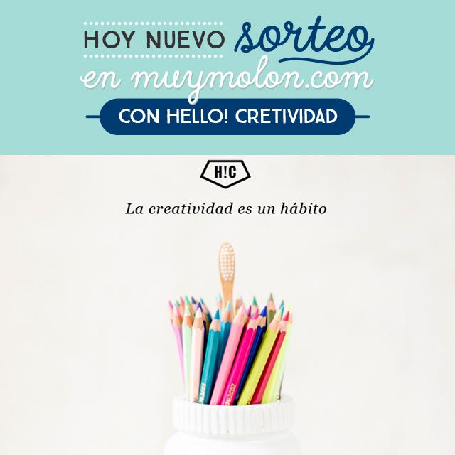 Hoy un sorteo estupendo de Hello! Creatividad: 4 premios de 250€ para sus cursos online