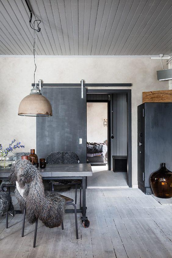 Inspiración deco: espacios con aire industrial