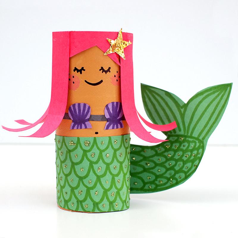 TP-Roll-Mermaid-craft-kids