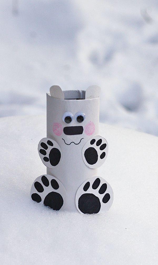 toilet-paper-roll-Polar-Bear-Craft