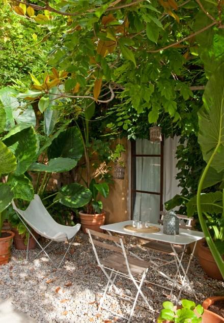 Patio habitacion Magnolia