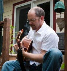 Stan on guitar