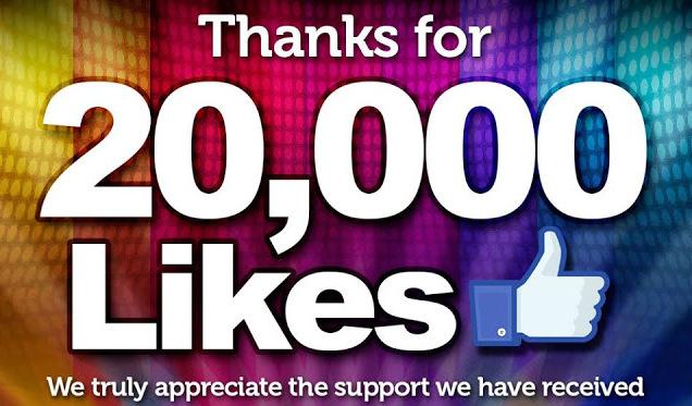 20000 likes