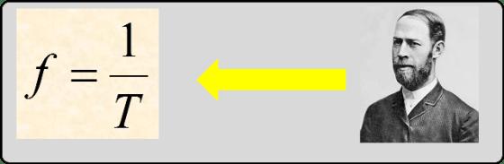 Heinrich Hertz si formula frecventei