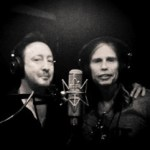 Julian Lennon and Steven Tyler complete their collaborative song