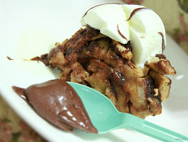 Recipe: Bread & Nutella Pudding