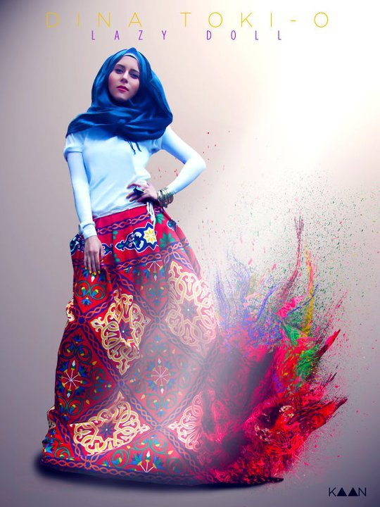 Dina Tokio: A Hijab Fashionista & What Comes With It