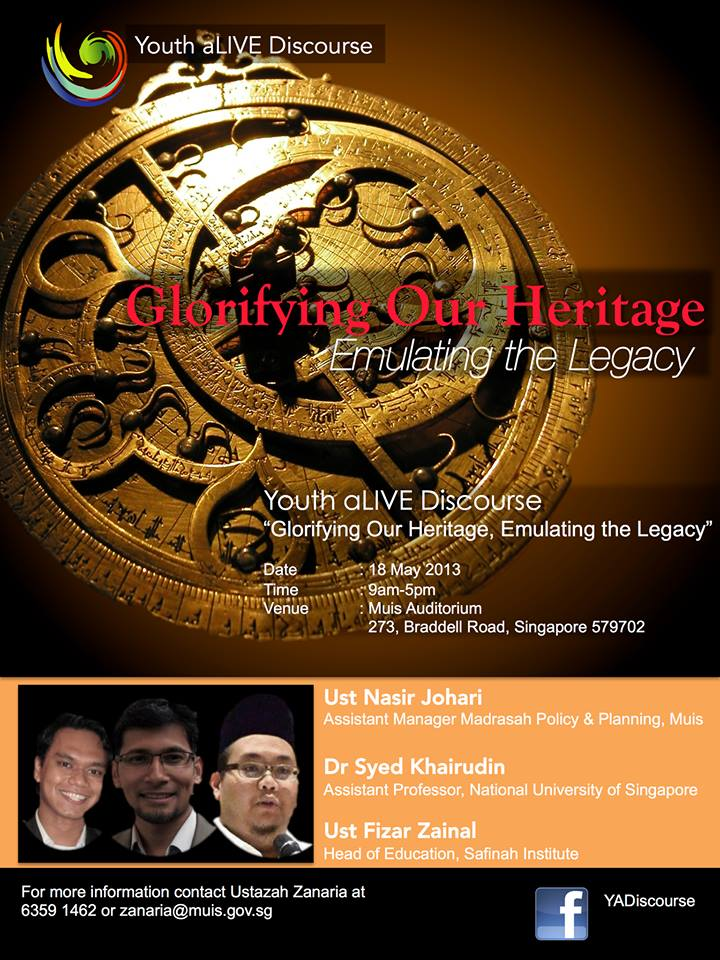 "Event Review: ""Islamic History & Civilisation"" with Ustaz Nasir Johari"