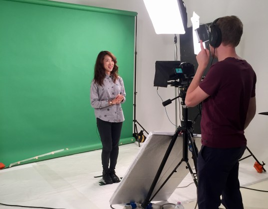 angie-online-course-filming